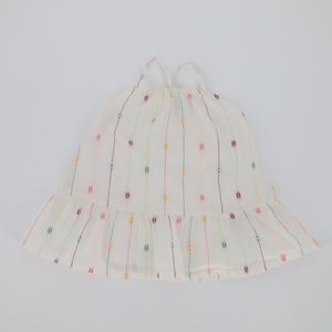 Old Navy Tiered Clip-Dot Dress Size 6-12 Months